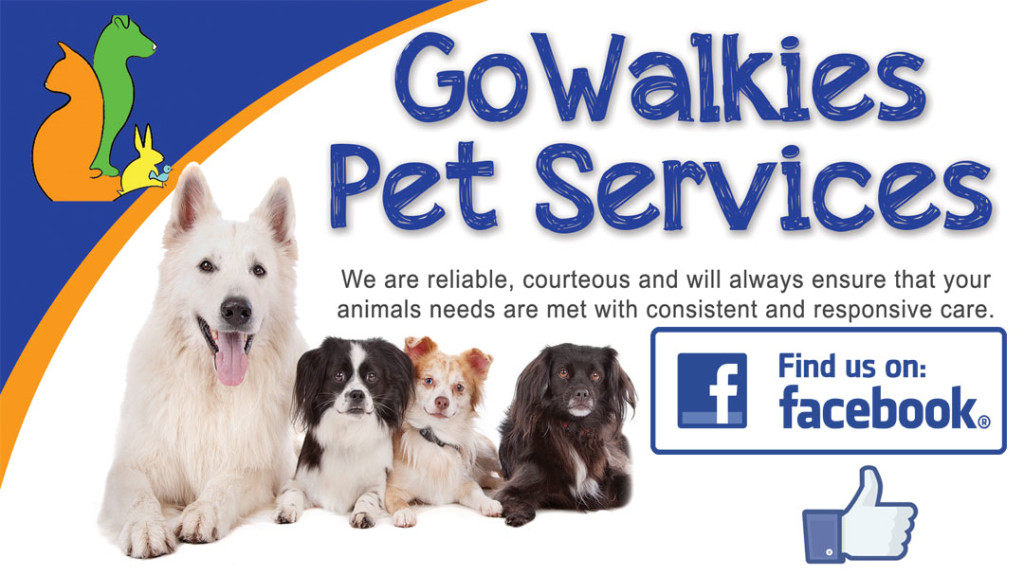 contact us at go walkies on facebook
